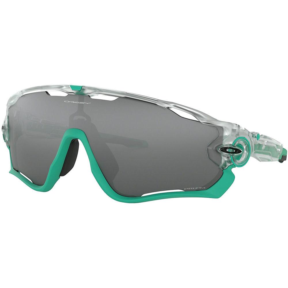 Image of Oakley Jawbreaker Crystal Pop PRIZM Black - Matte Clear, Matte Clear