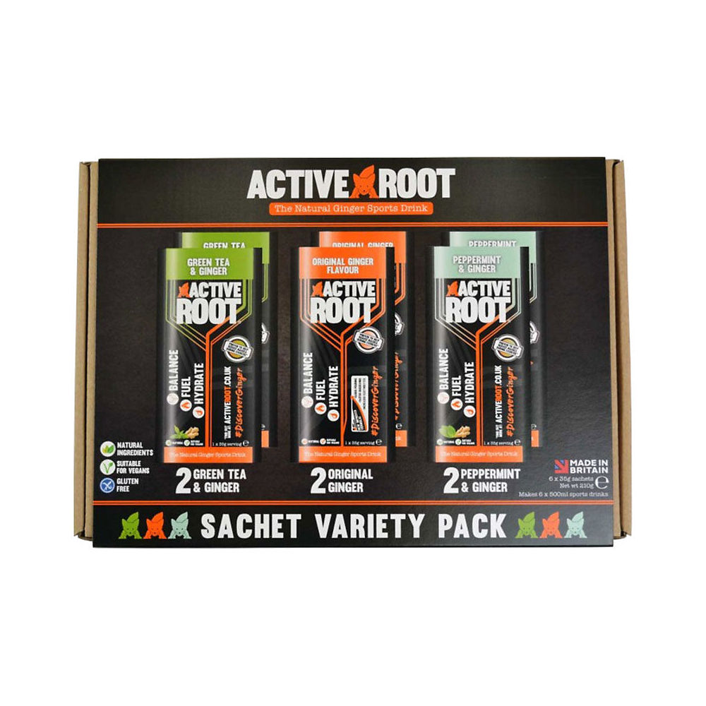 Image of Active Root 6 Sachet Box (6 x 35g) - Assorted