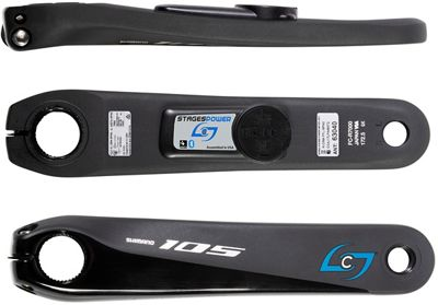 Stages Cycling Power Meter L - 105 R7000 - Negro, Negro