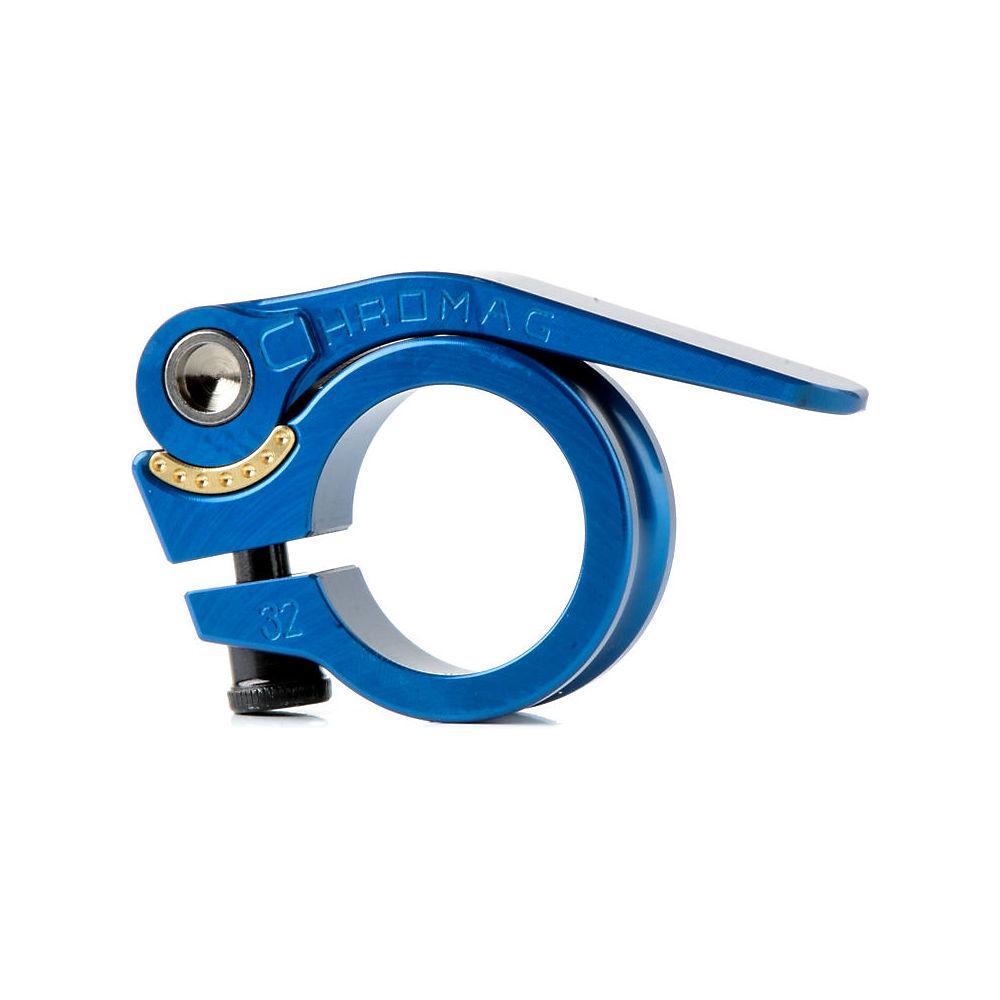 Chromag QR Seat Post Clamp - Azul - 32.0mm, Azul