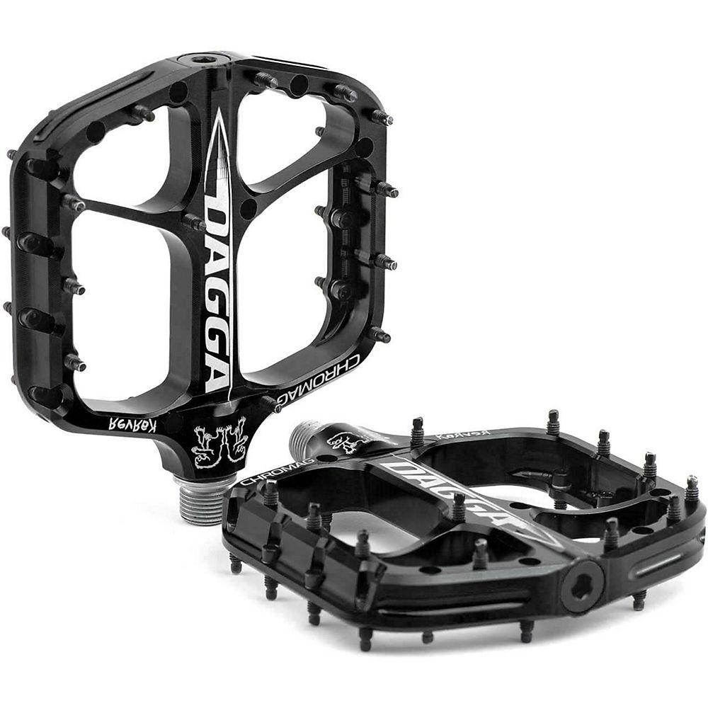 Chromag Dagga Flat Pedal - Black, Black