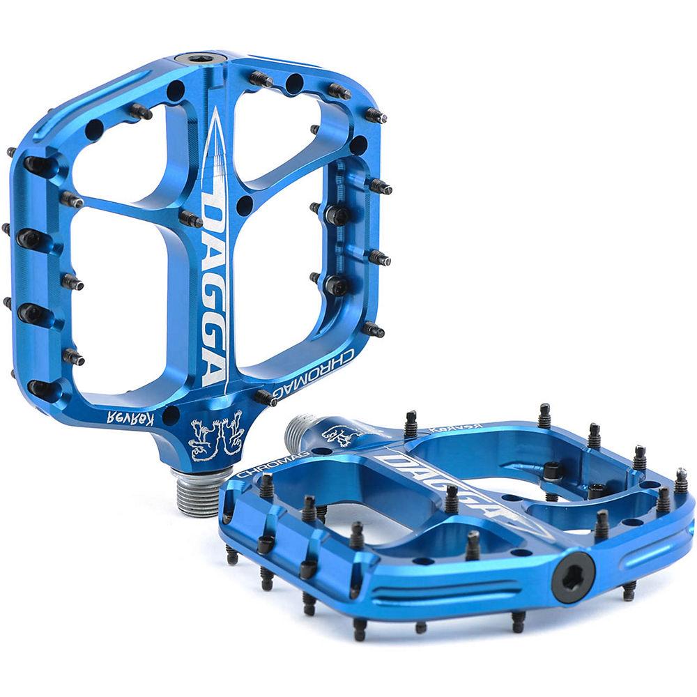 Chromag Dagga Flat Pedal - Blue, Blue