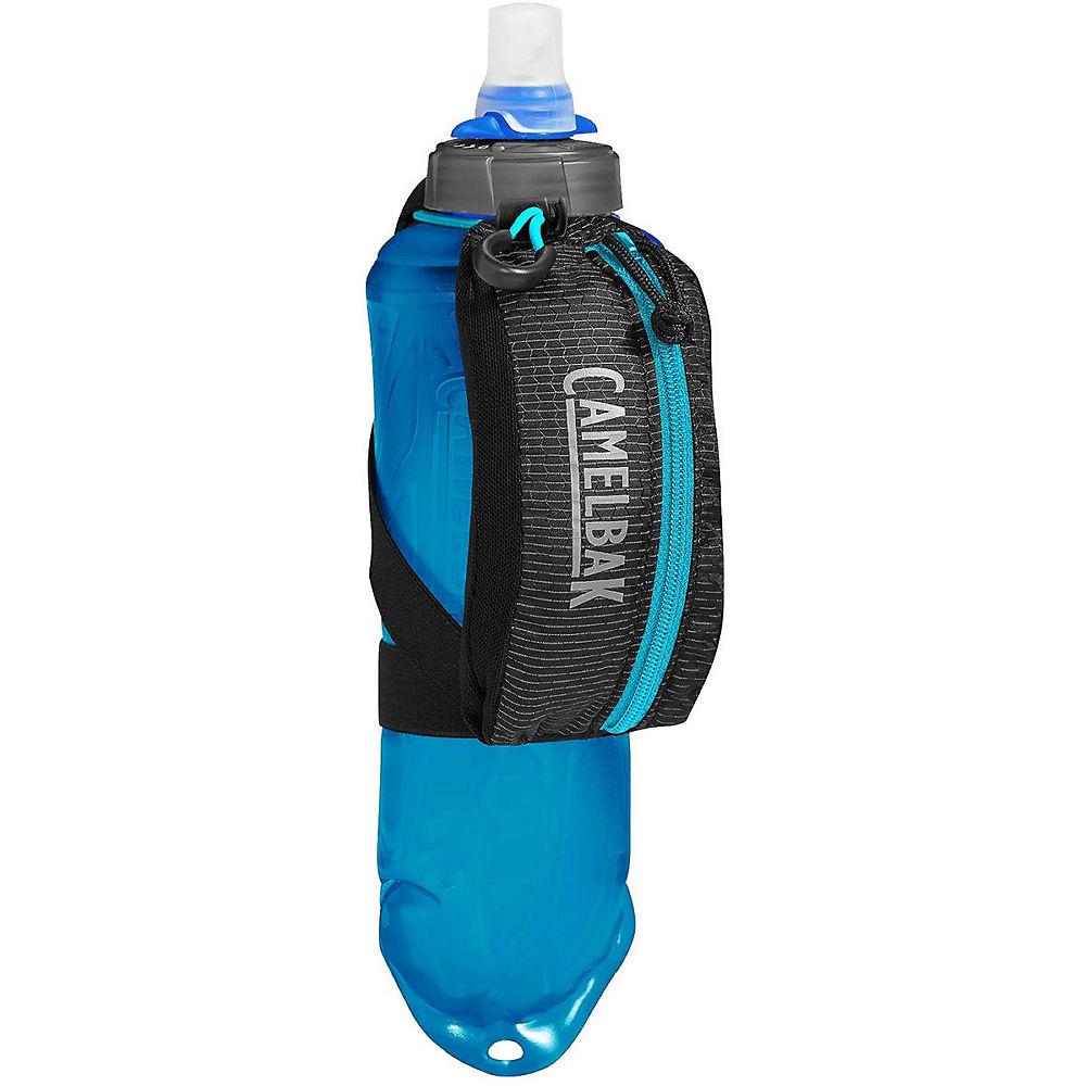 Camelbak Nano Handheld 500ml Water Bottle  - Black-Atomic Blue, Black-Atomic Blue