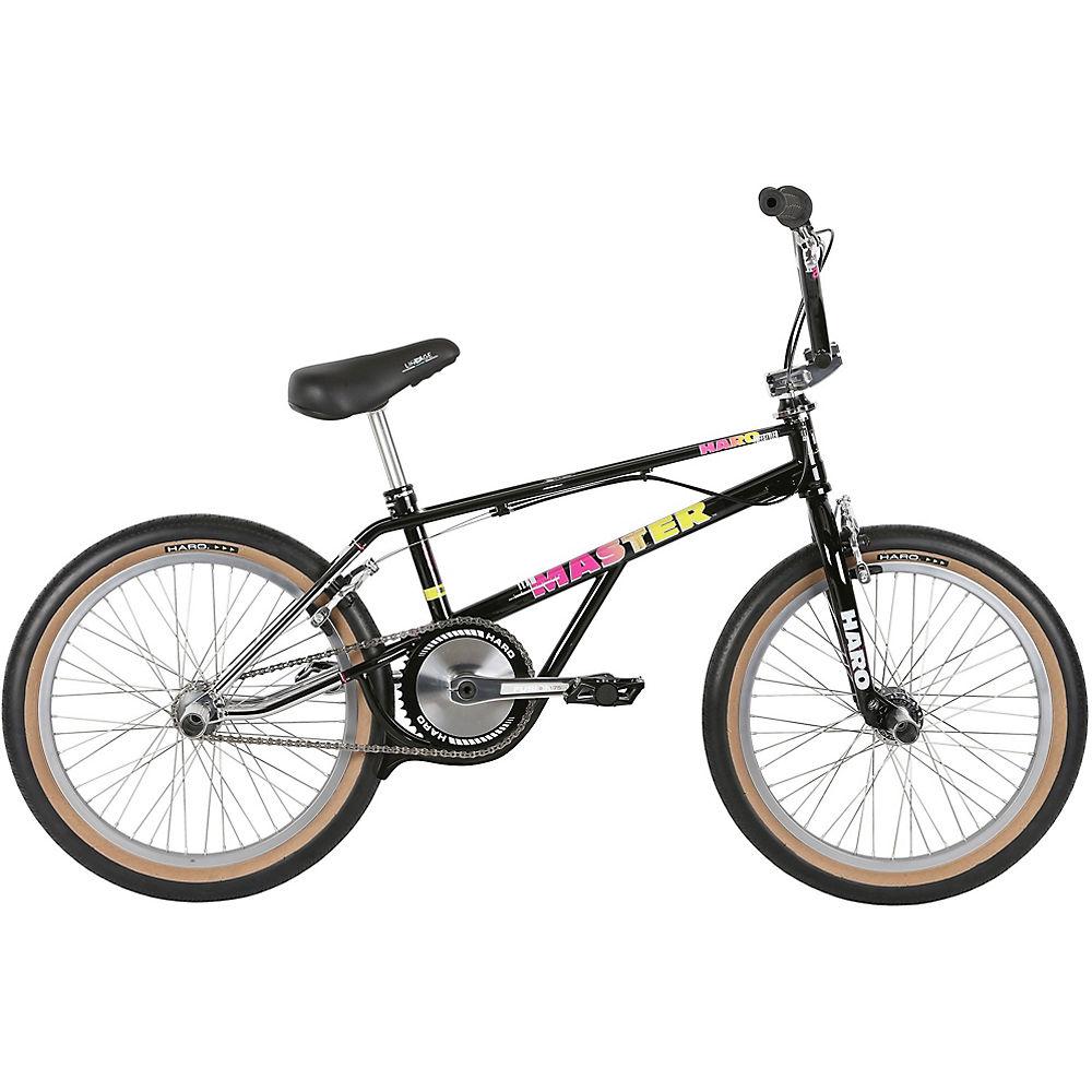 Haro Lineage Team Master Bashguard BMX Bike 2019 - Chrome-Gloss Black - 21