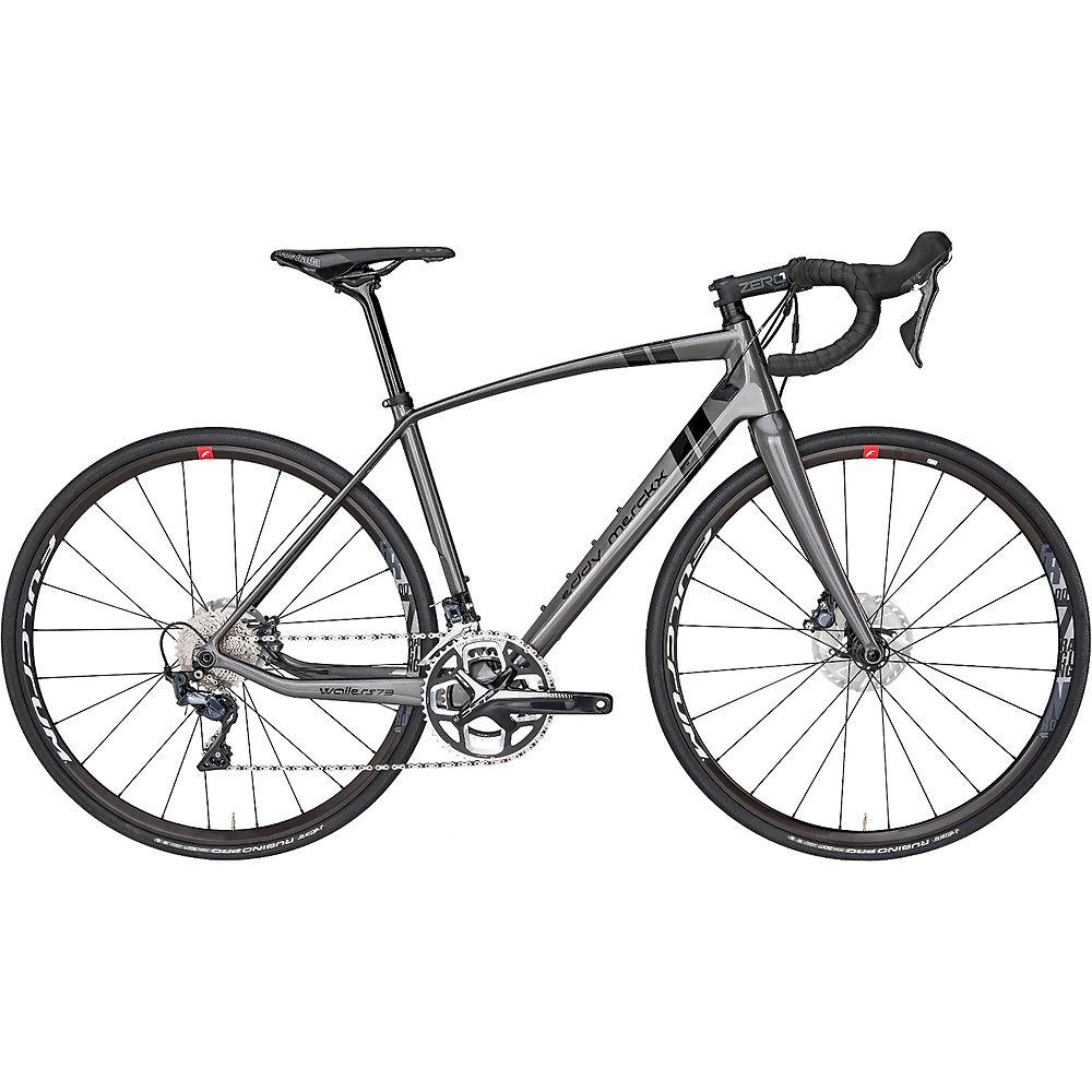 Bici da strada Eddy Merckx Wallers 73 Ultegra (freni a disco) 2019 - antracite - nero
