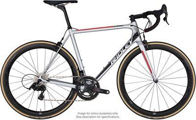 Ridley Helium X Ultegra Road Bike 2019 - Plata - Negro - Rojo, Plata - Negro - Rojo