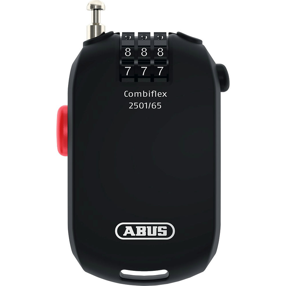 Abus Combiflex 2501 Cable Bike Lock - Black, Black