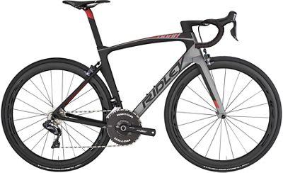 Ridley Noah Fast Ultegra Di2 Road Bike 2019 - Grey Metallic - Black - Red Metallic, Grey Metallic - Black - Red Metallic