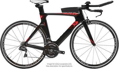 Ridley Dean 105 TT Bike 2019 - Negro - Rojo, Negro - Rojo