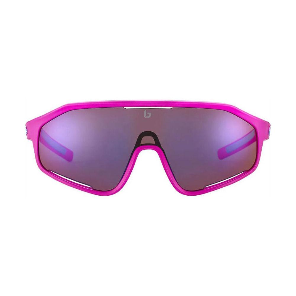 Bolle Shifter Matte Pink Sunglasses - Matte Pink Brown Blue  Matte Pink Brown Blue