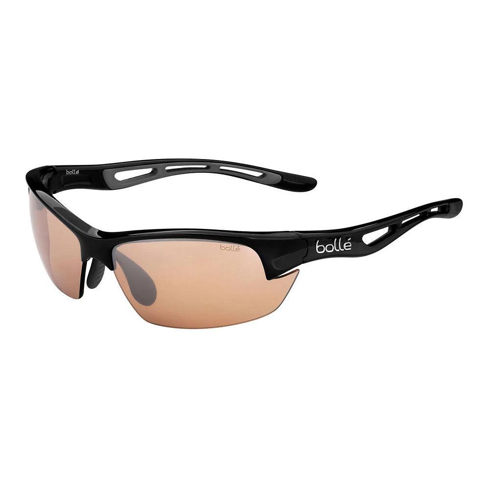 Image of Bolle Bolt S Sunglasses - Shiny Black Phantom Brown Gun, Shiny Black Phantom Brown Gun