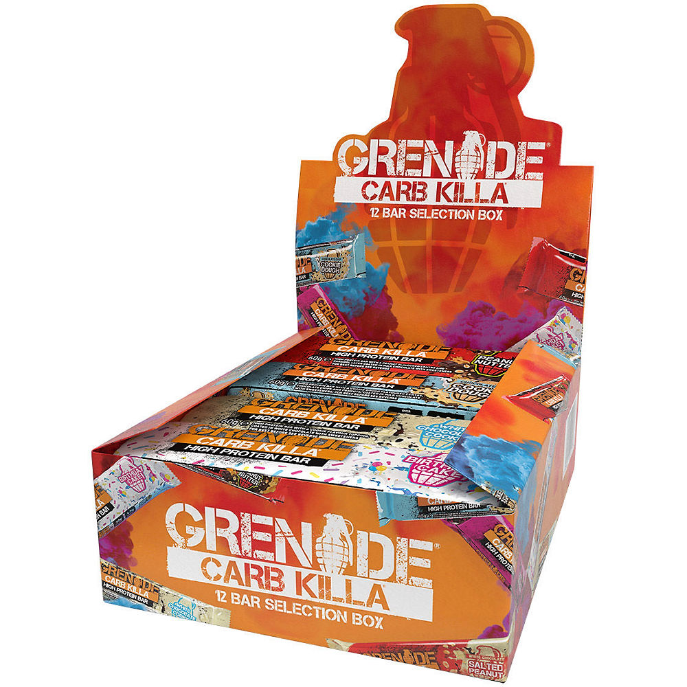 Grenade Carb Killa Selection Box - 12 Bars
