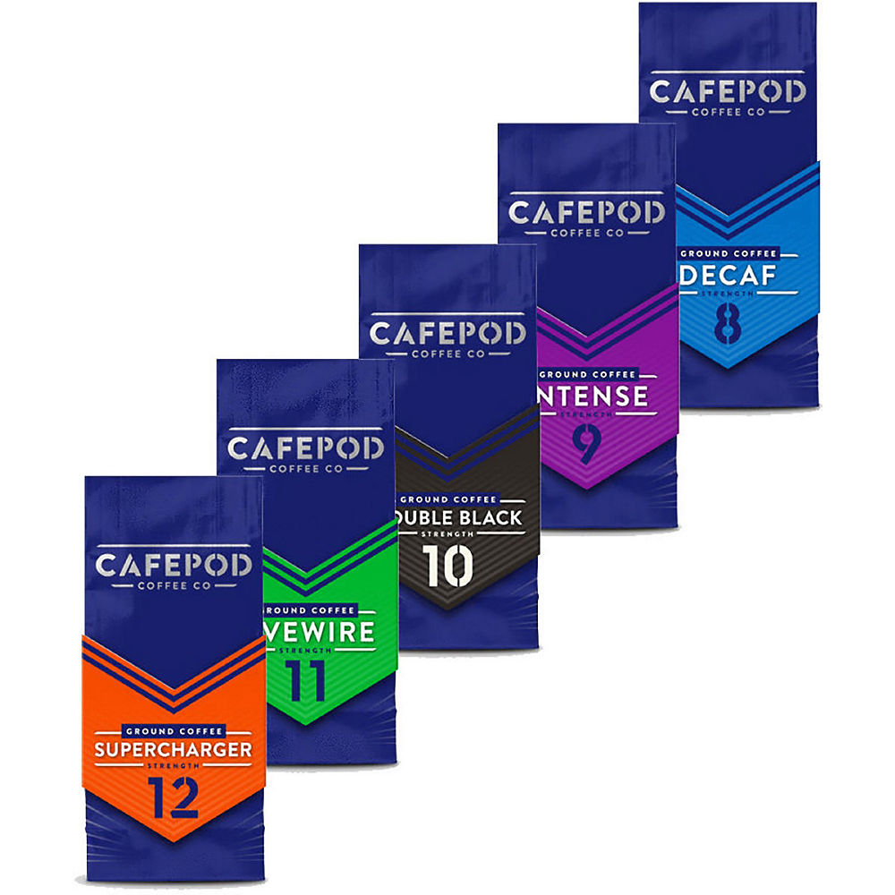 CafePod Ground Coffee 200g - 4 Pack