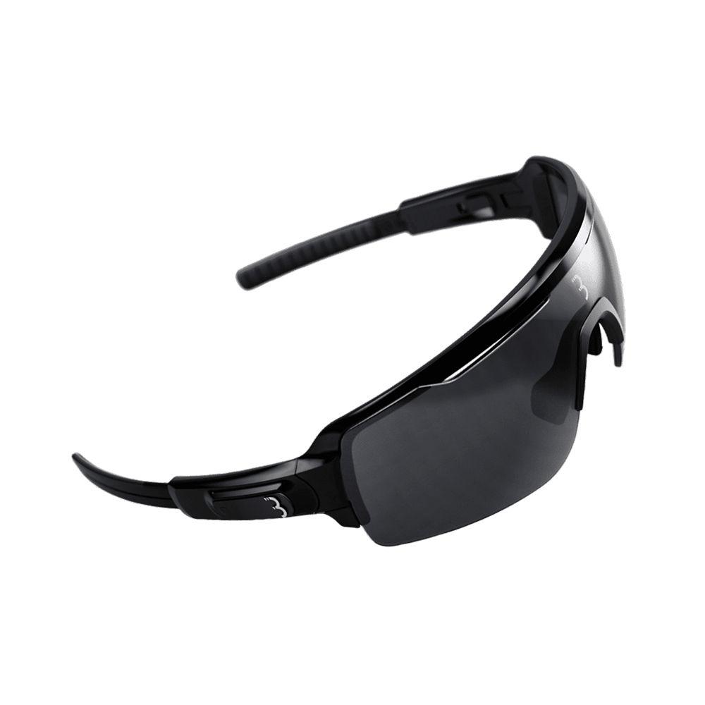 Image of BBB Commander Sport Glasses - Gloss Black Smoke Lenses, Gloss Black Smoke Lenses
