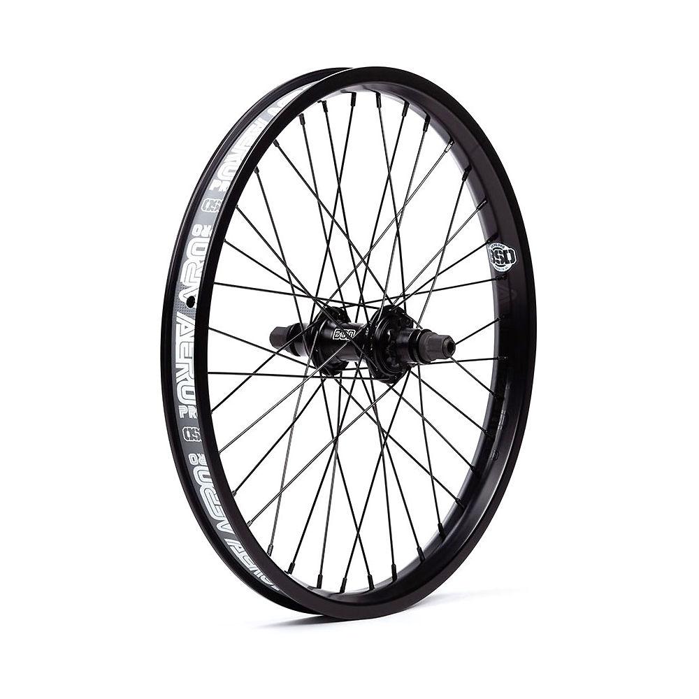 BSD Aero Pro Back Street Wheel – Black – RHD – Female Axle, Black