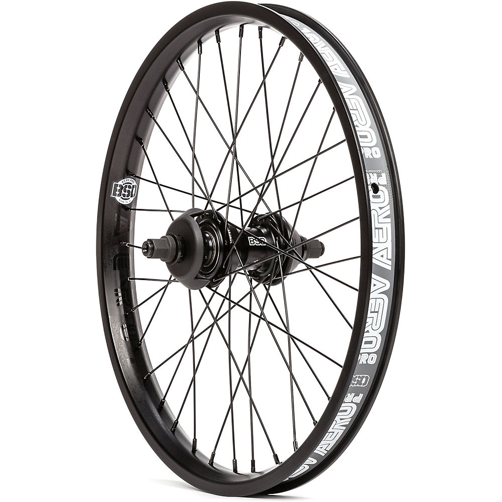 BSD Aero Pro West Coaster Wheel - Black - Left Hand Drive, Black
