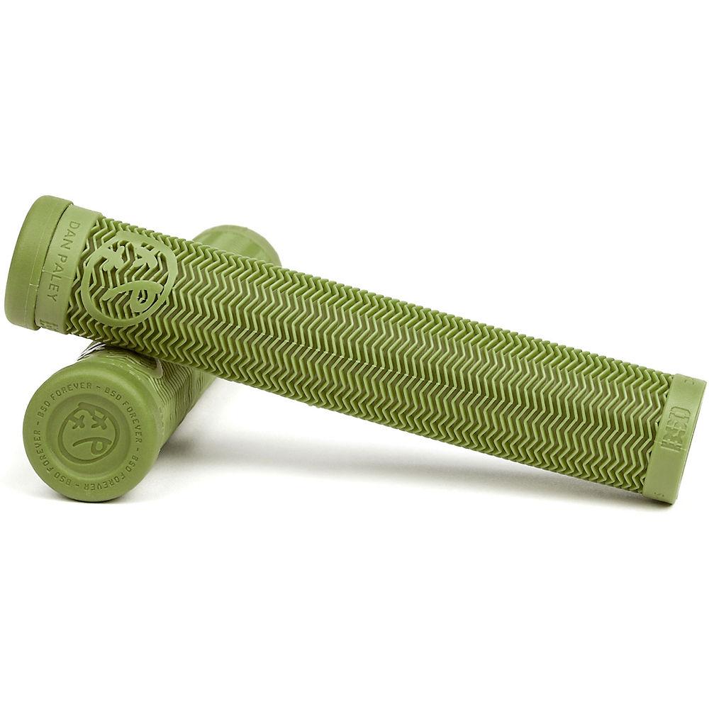 Image of BSD Dan Paley Slims Grips - Surplus Green - 160mm, Surplus Green