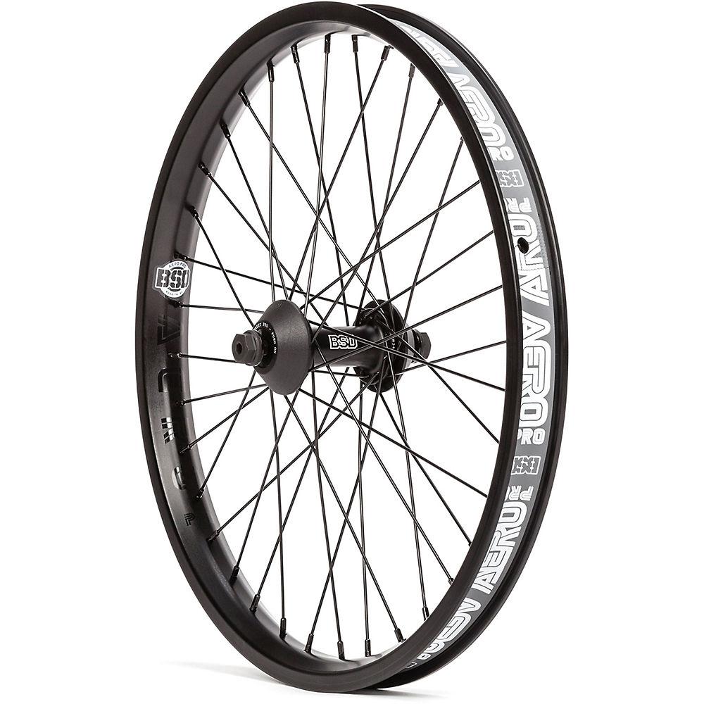 "Image of BSD Aero Pro Front Street Wheel - Noir - 20"", Noir"
