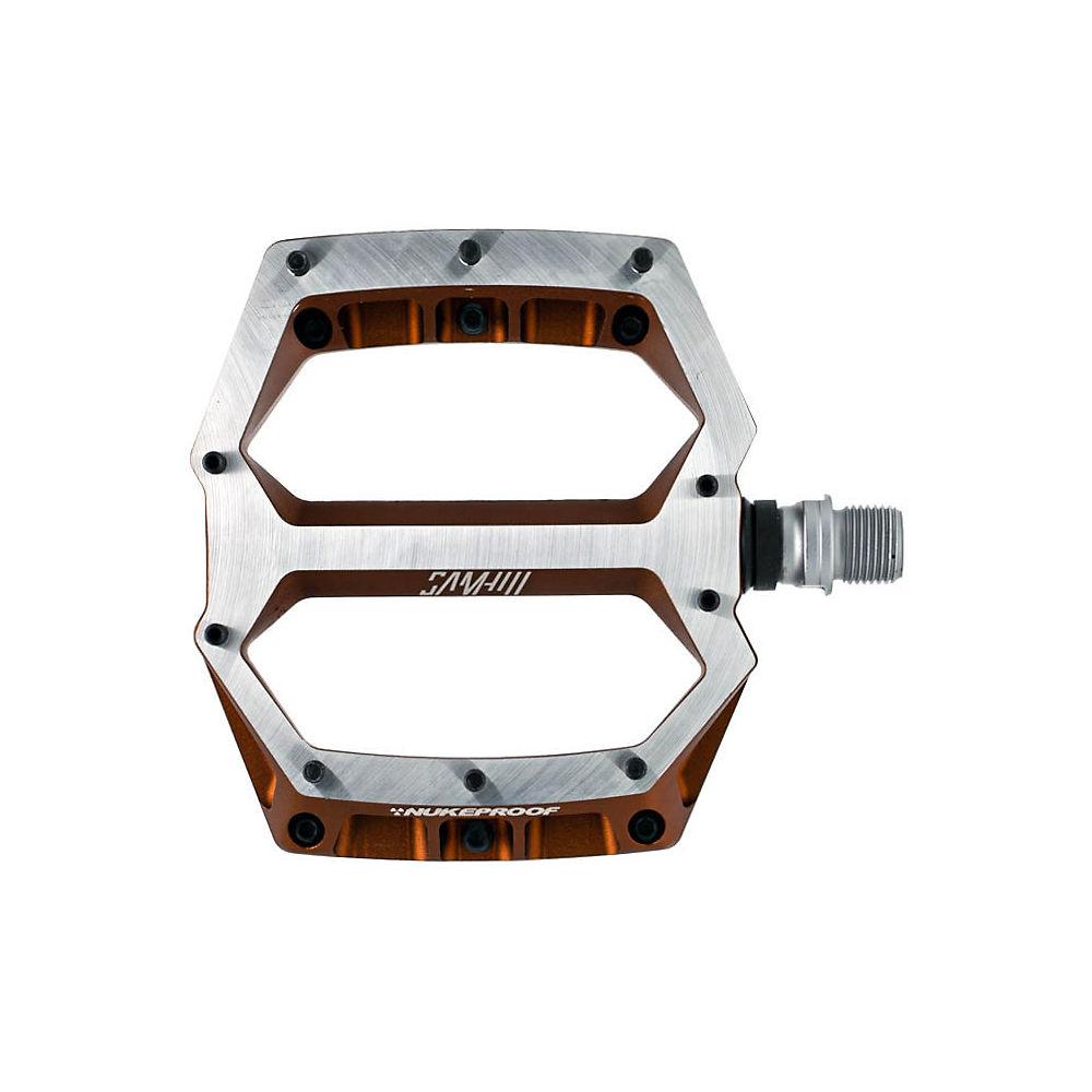 Nukeproof Horizon Pro Sam Hill Enduro MTB Pedals - Copper, Copper