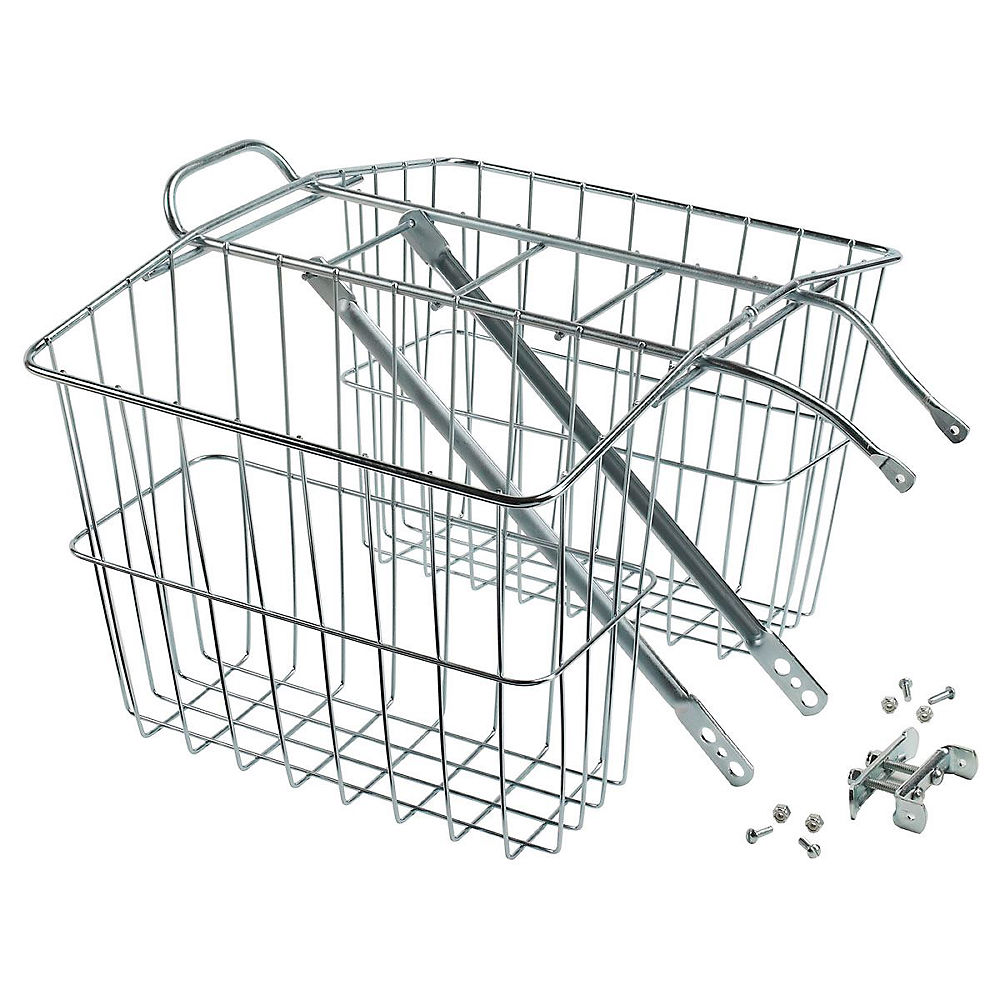 Image of Wald 520 Twin Carrier Basket - Argent, Argent