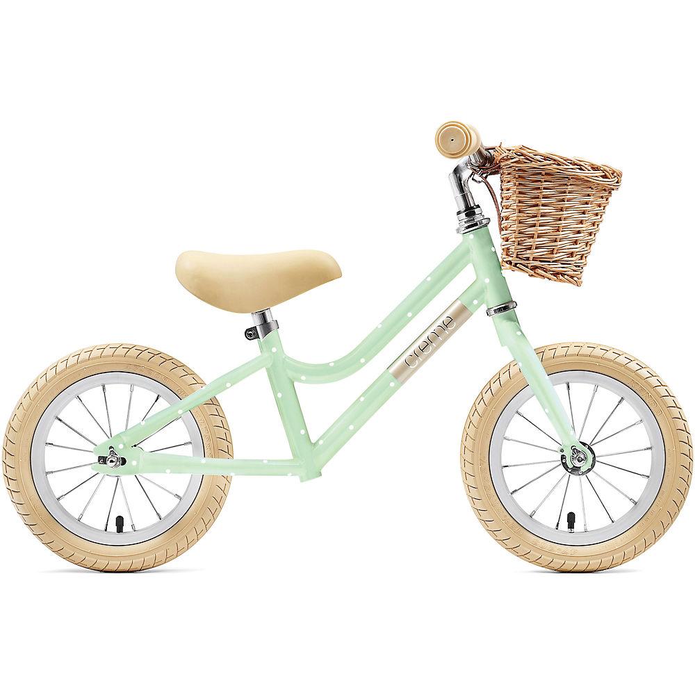 "Creme Mia Balance Bike 2021 - Pistachio Polka - 12"", Pistachio Polka"