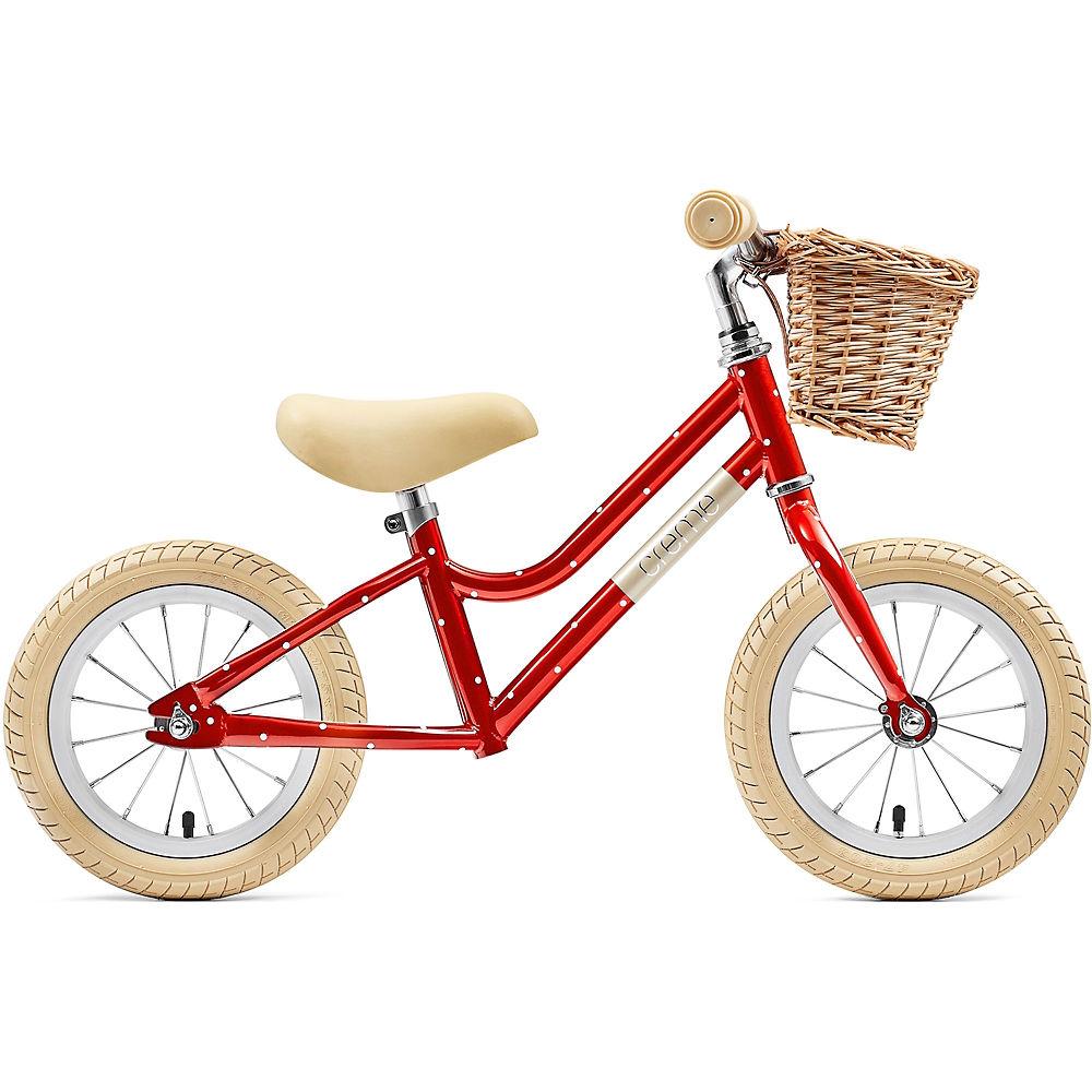 """Creme Mia Balance Bike 2021 - Red Polka - 12"""", Red Polka"""