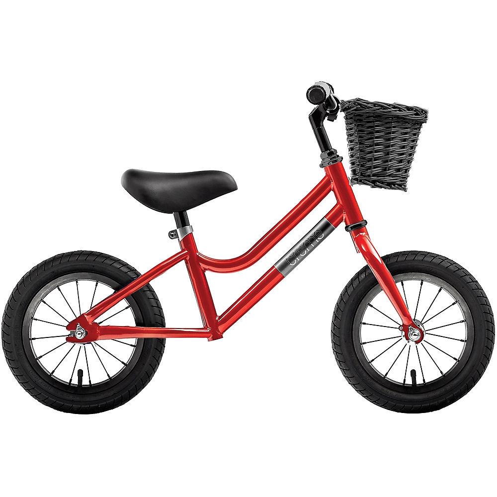 "Creme Micky Balance Bike 2021 - Red Speed - 12"", Red Speed"
