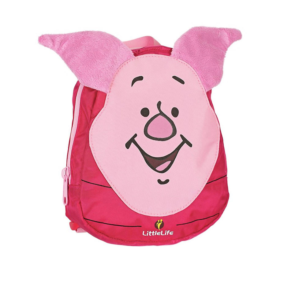 Image of LittleLife Toddler Disney Winnie The Pooh Backpacks - Piglet - One Size, Piglet