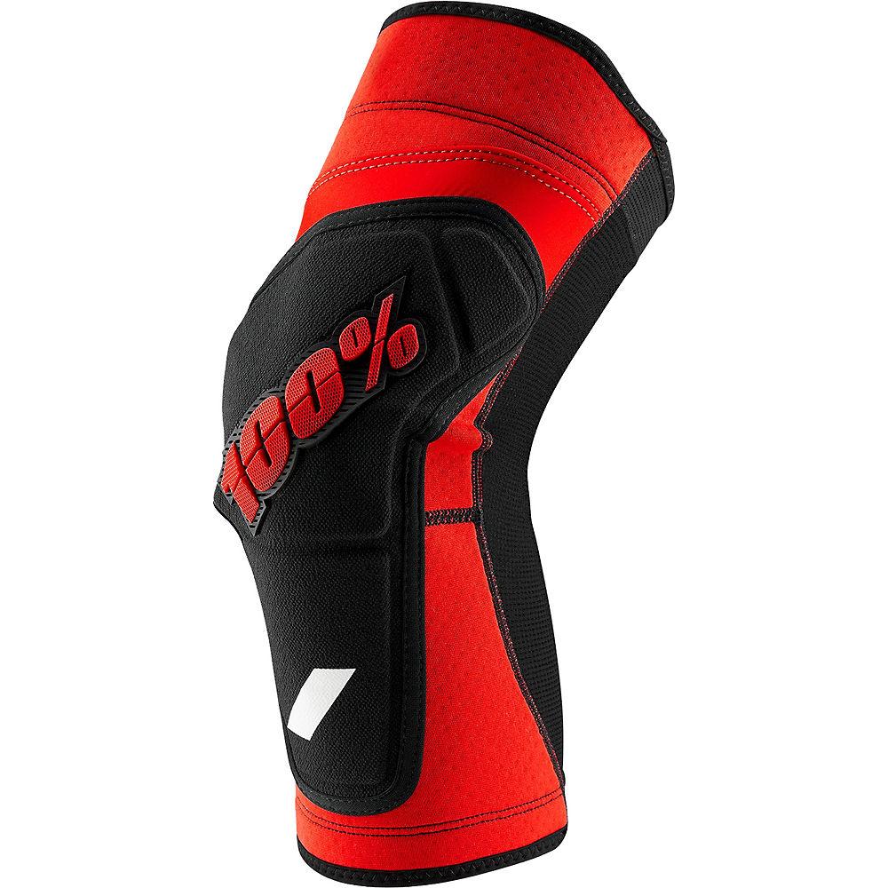 100% RideCamp Knee Guard  - Red-Black - XL, Red-Black