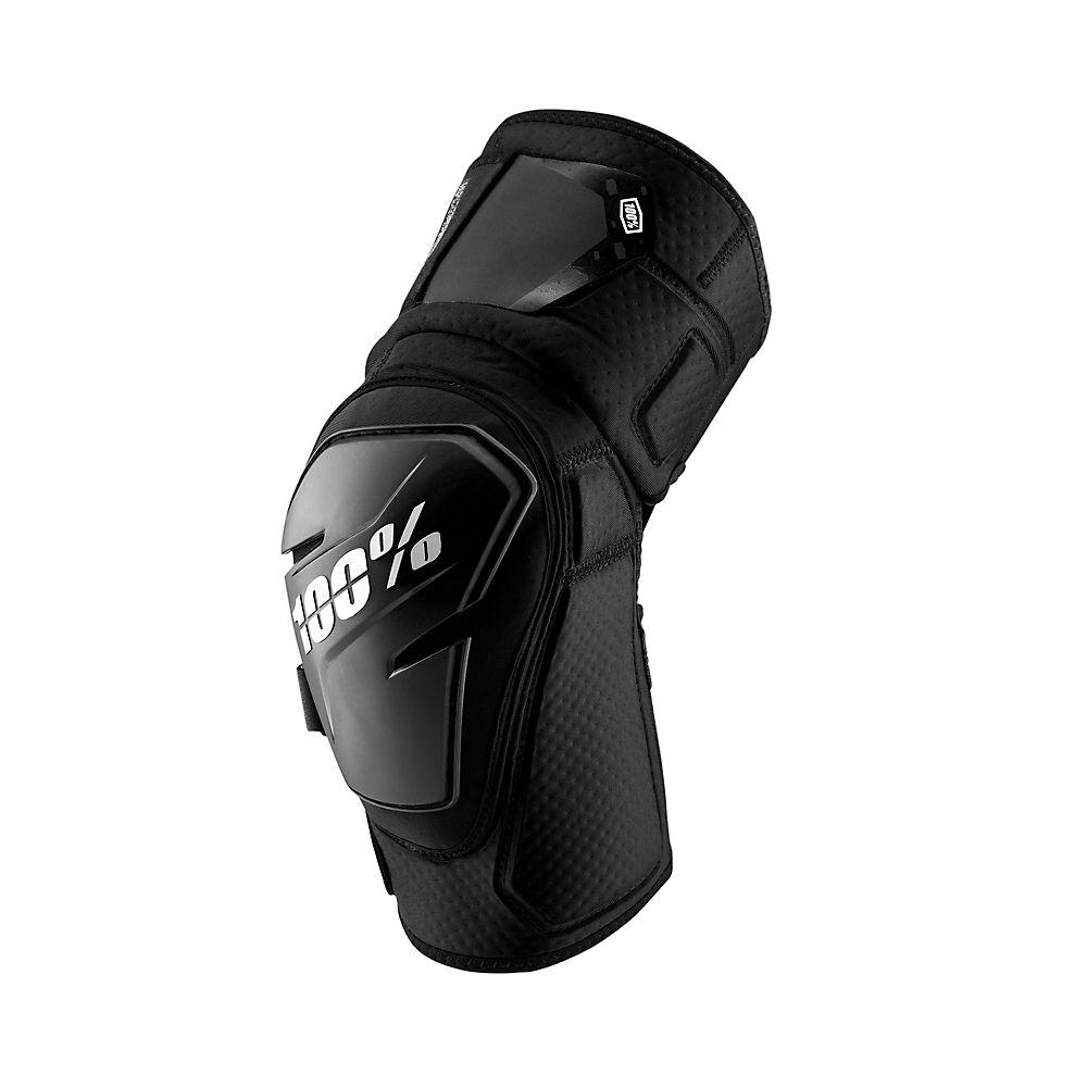 100% Brisker Gloves  - Black-grey - M  Black-grey