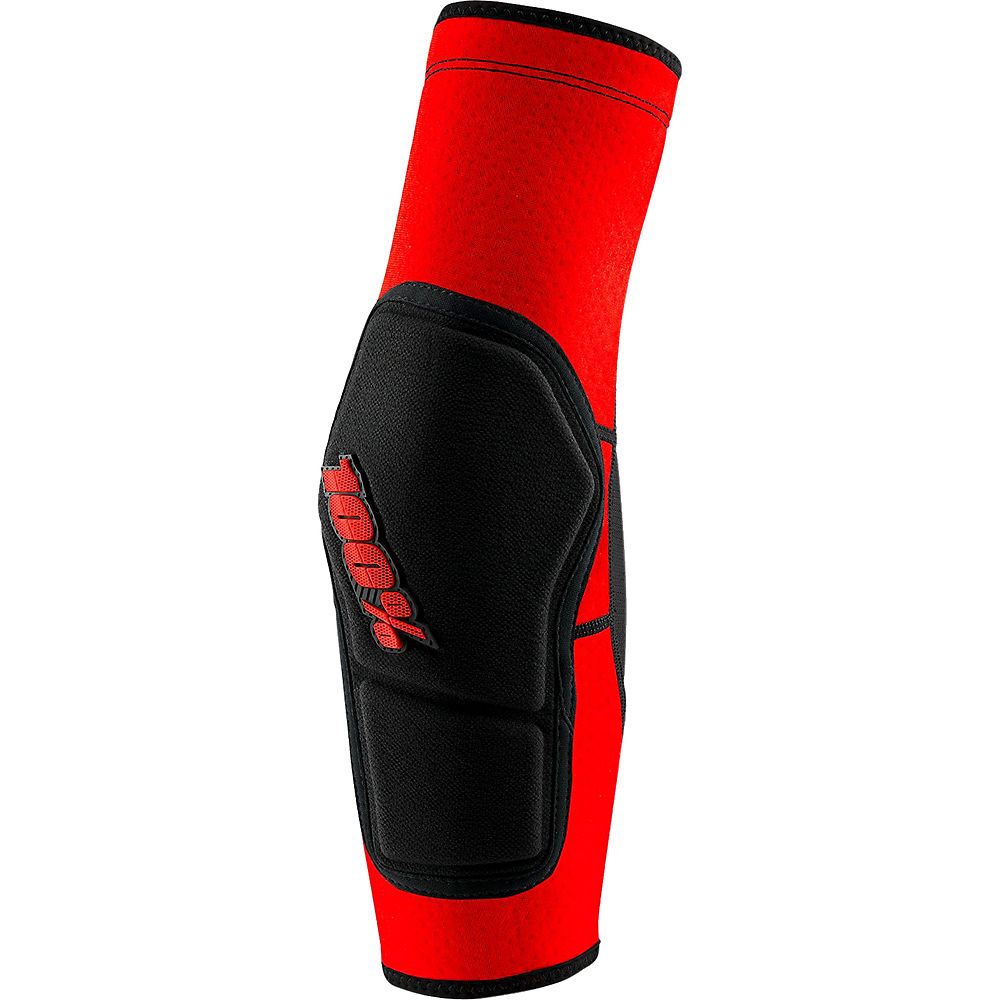 100% RideCamp Elbow Guard  - Red-Black, Red-Black