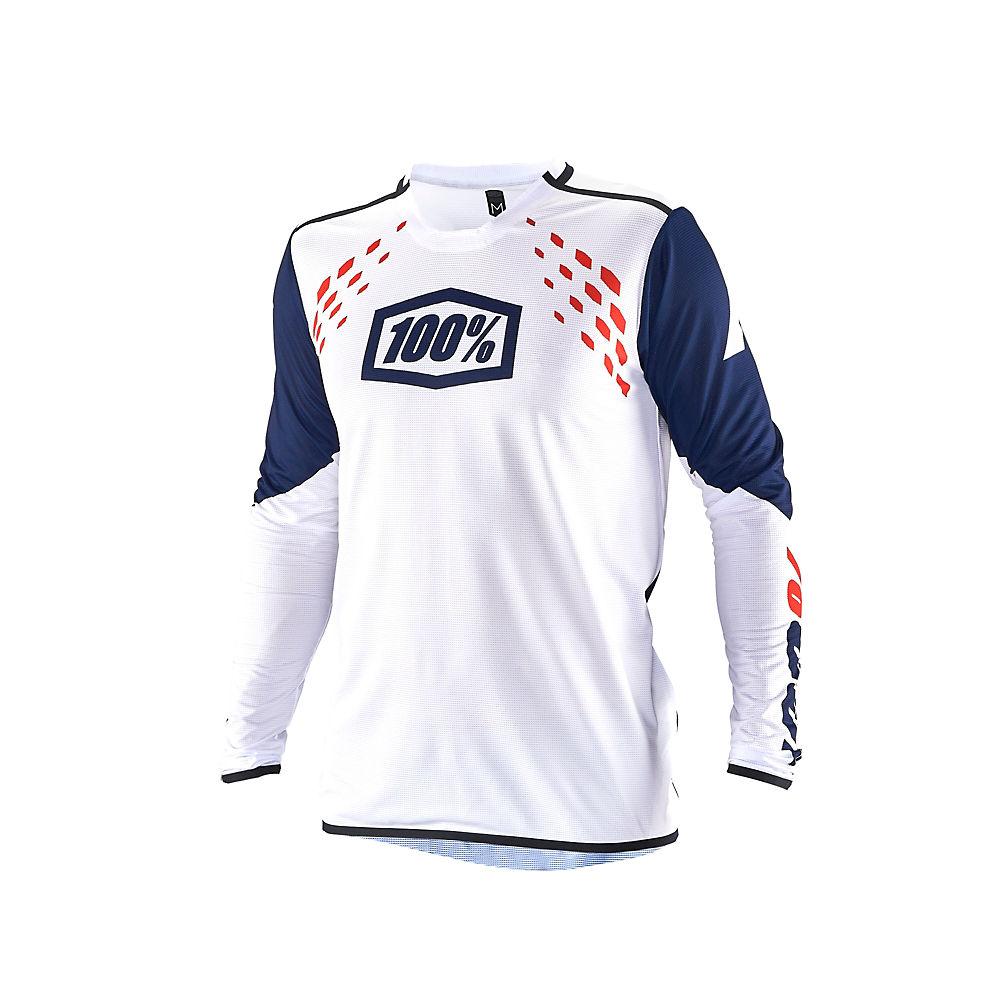 100% R-Core X Jersey  - White - M, White