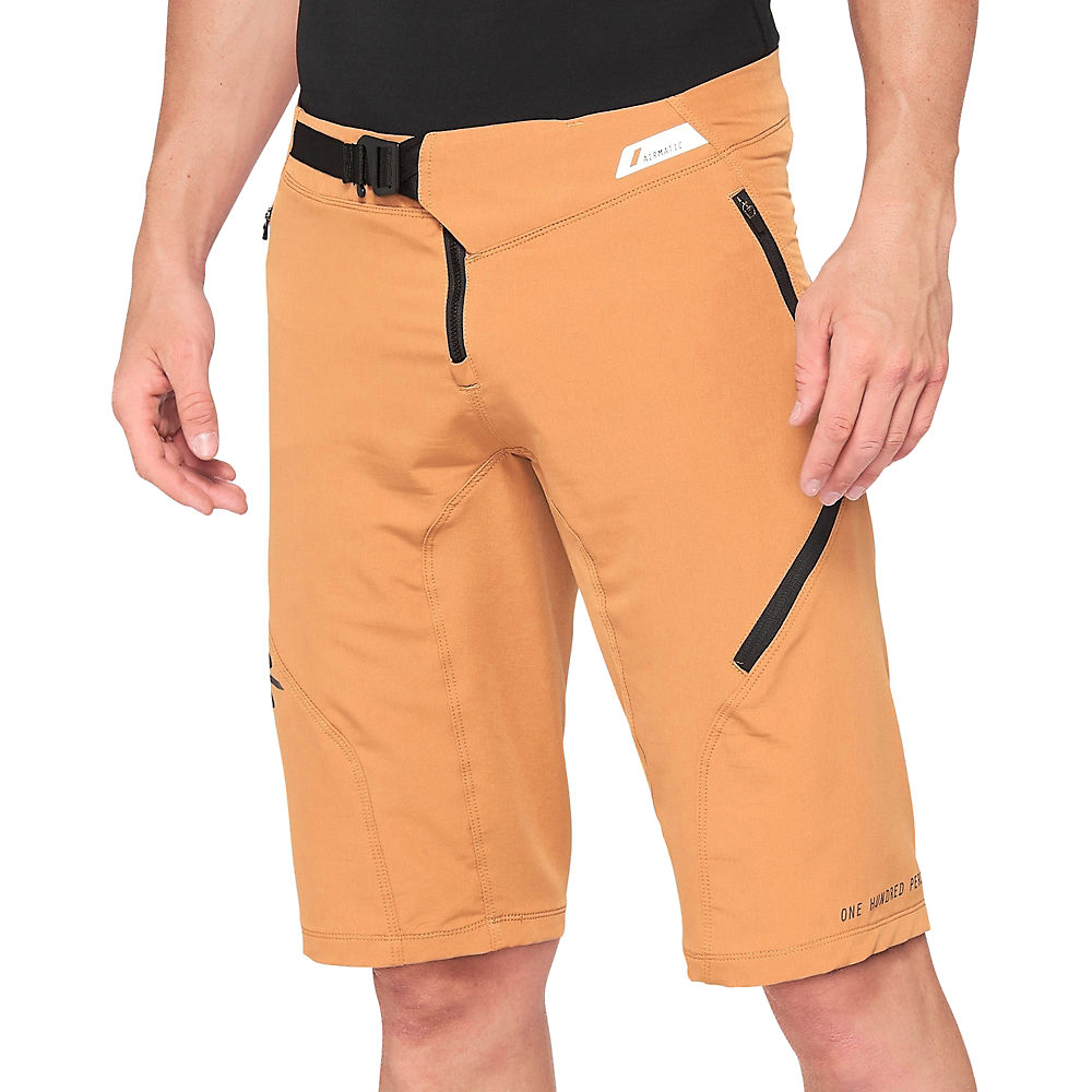 100% Airmatic Shorts - Caramel - 36, Caramel