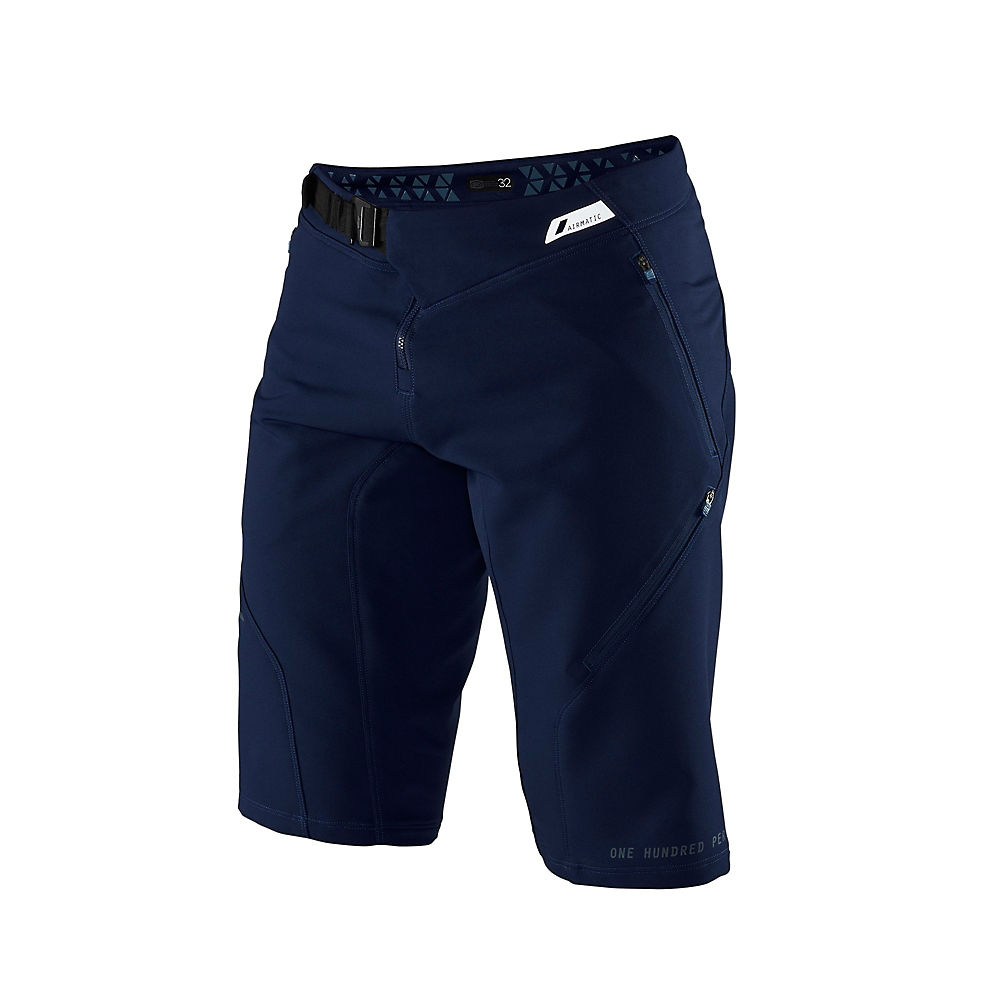 100% Airmatic Shorts - Navy - 38  Navy