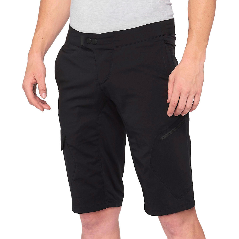 100% Ridecamp Shorts - Black - 30  Black