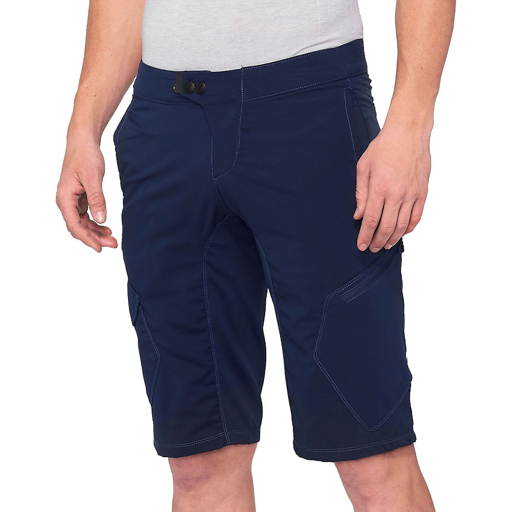 100% RideCamp Shorts - Navy - 34, Navy
