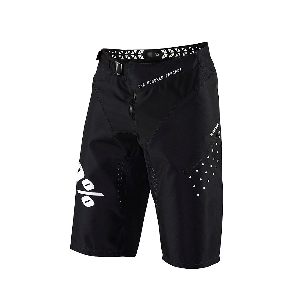 100% R-Core Youth Shorts - Black - 22