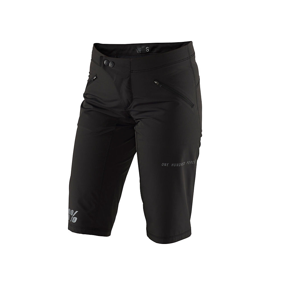 100% R-core X Shorts Black  - 30  Black