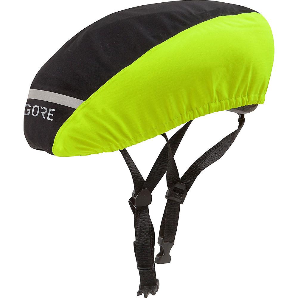 Gore Wear C3 GTX Helmet Cover - Negro/Neon Yellow - L/XL/XXL, Negro/Neon Yellow