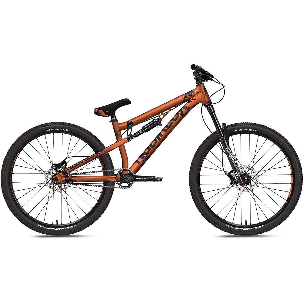 "ns bikes soda slope dirt jump bike 2020 - 26"" - copper"