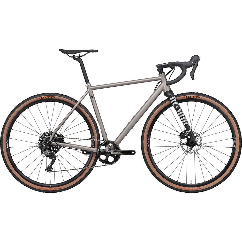 Rondo Ruut Ti Gravel Bike 2020 - Titanium - Black - S