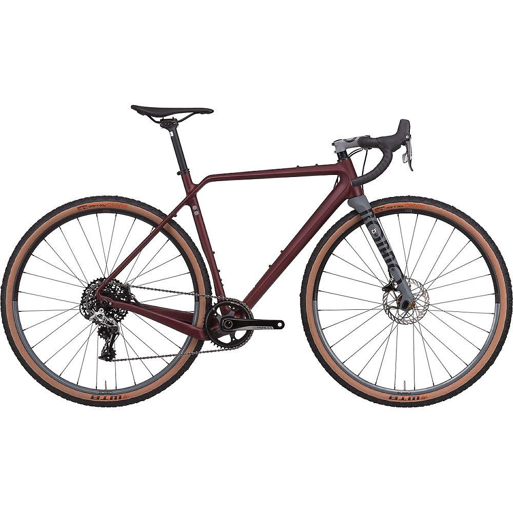 Rondo Ruut CF 2 Gravel Bike 2020 - Burgundy - Grey - XL
