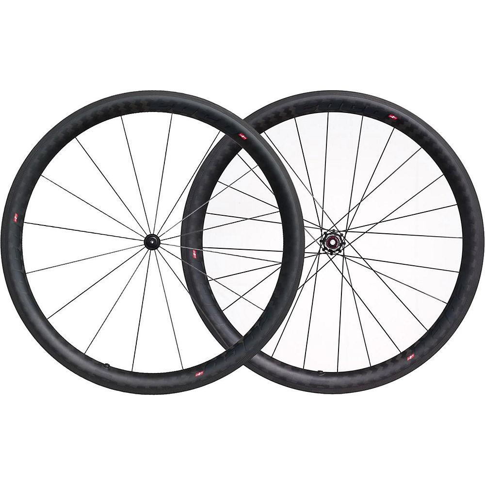 Image of Edco Chronosport Umbrial Wheelset - Noir - 700c, Noir