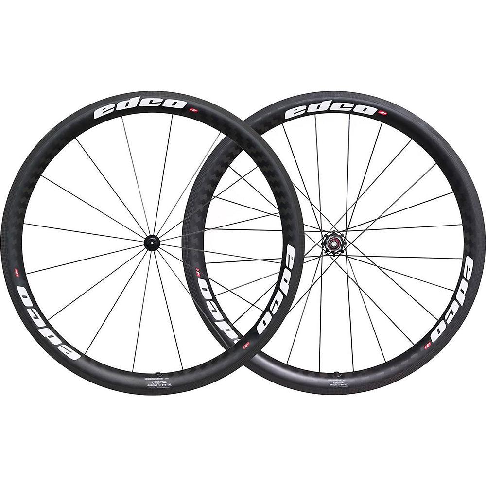 Image of Edco Chronosport Umbrial Wheelset - Blanc - 700c, Blanc