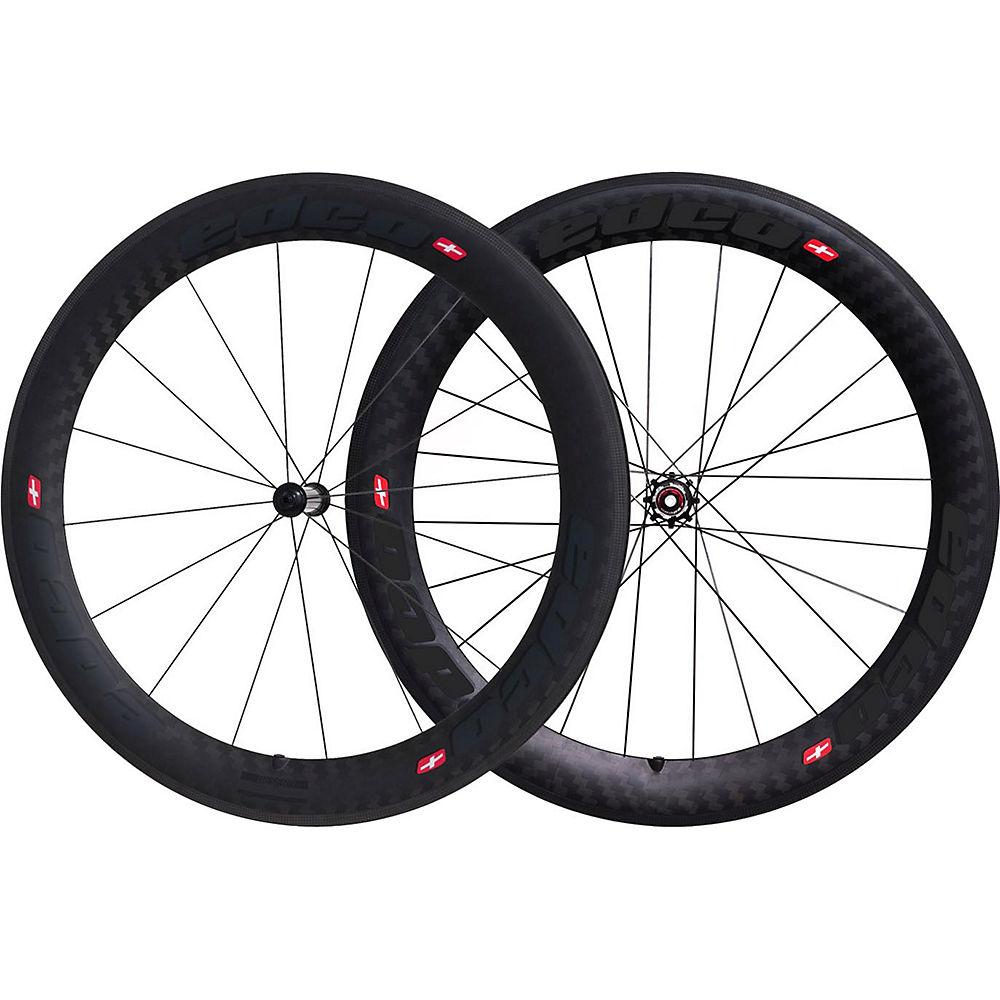 Image of Edco Chronosport Gesero Wheelset - Noir - 700c, Noir