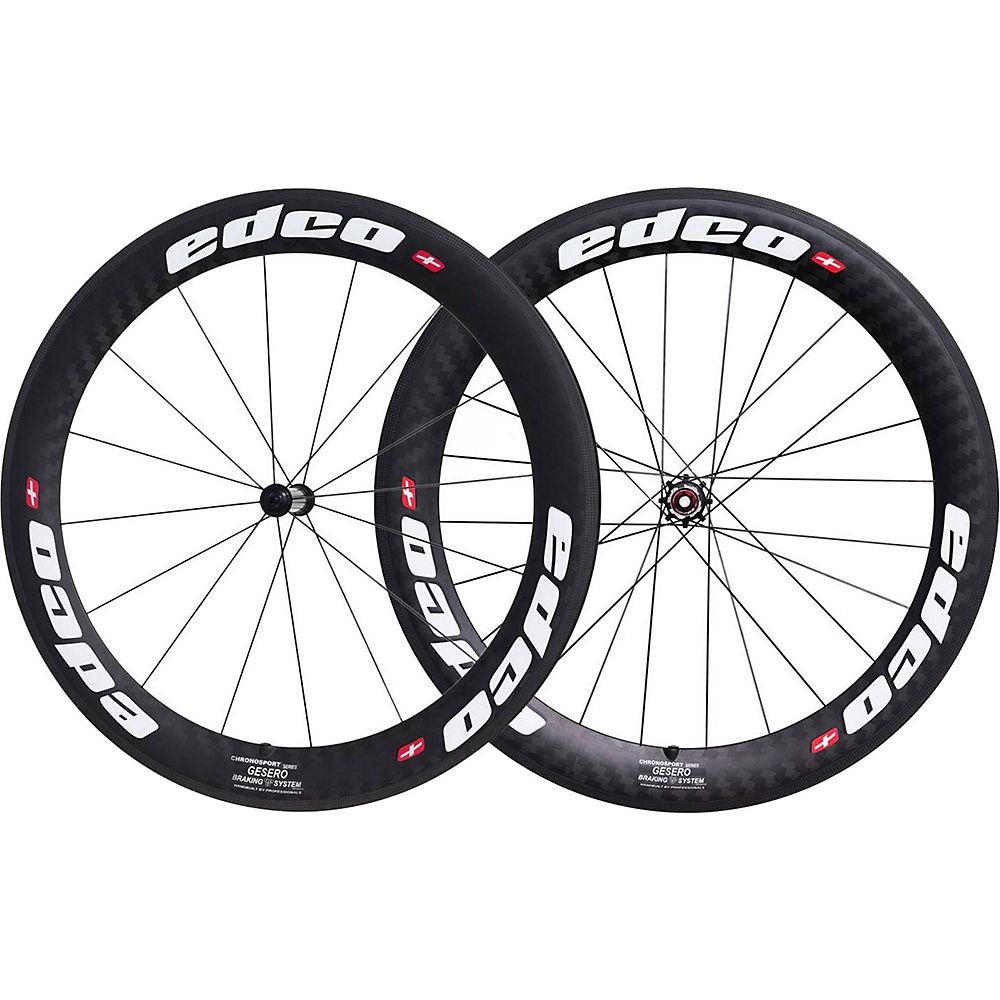 Image of Edco Chronosport Gesero Wheelset - Blanc - 700c, Blanc