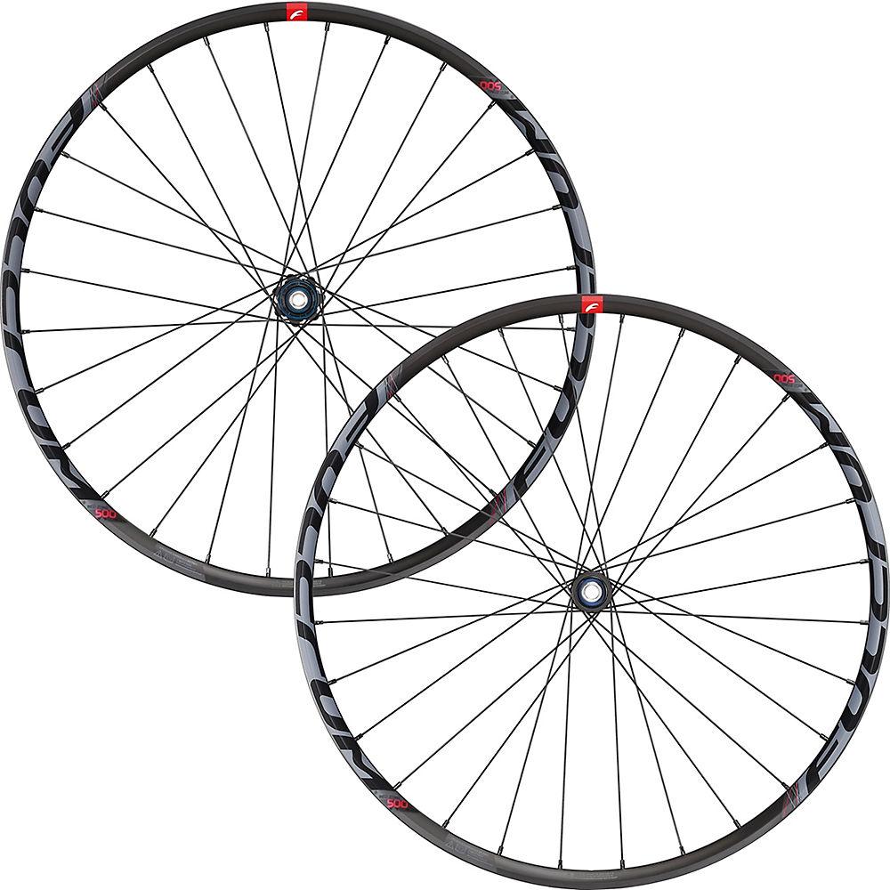 Fulcrum Red Zone 500 MTB Wheelset – Black – 110mm / 148mm, Black