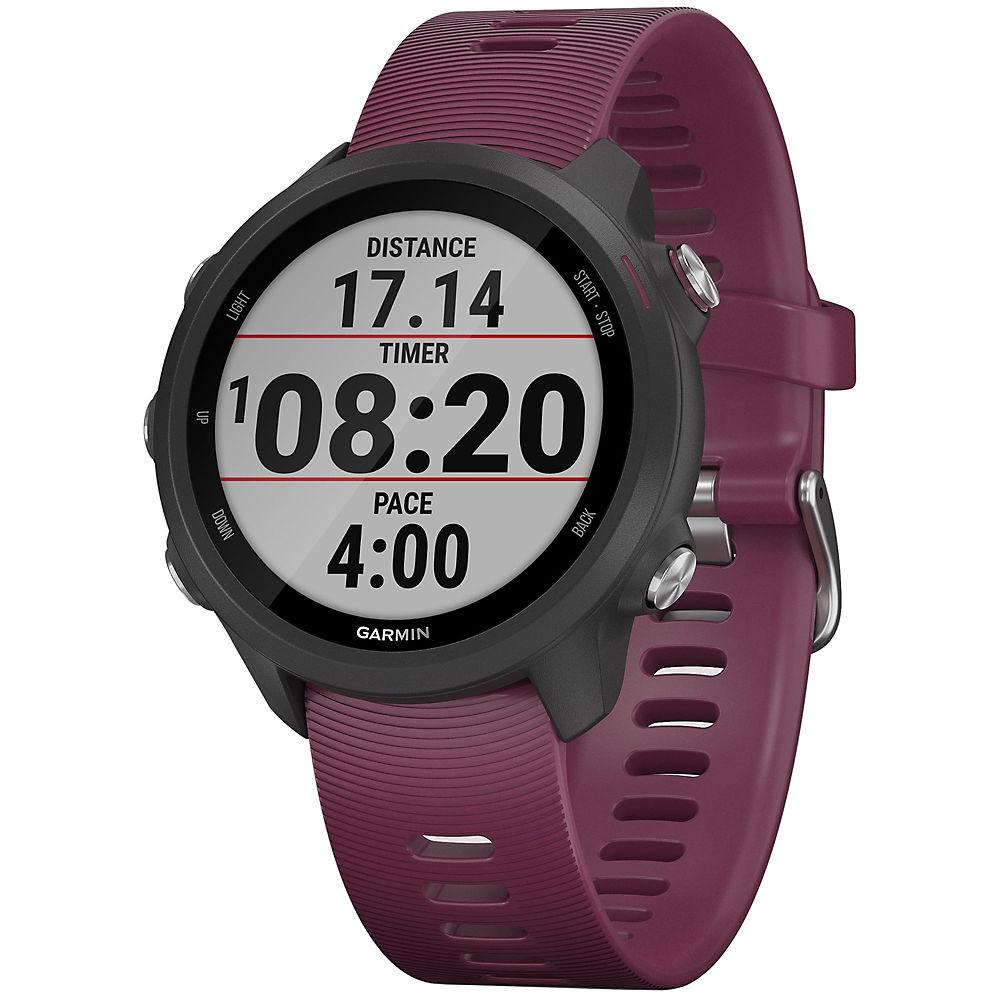 Garmin Forerunner 245 GPS Running Watch - Black - Berry, Black - Berry