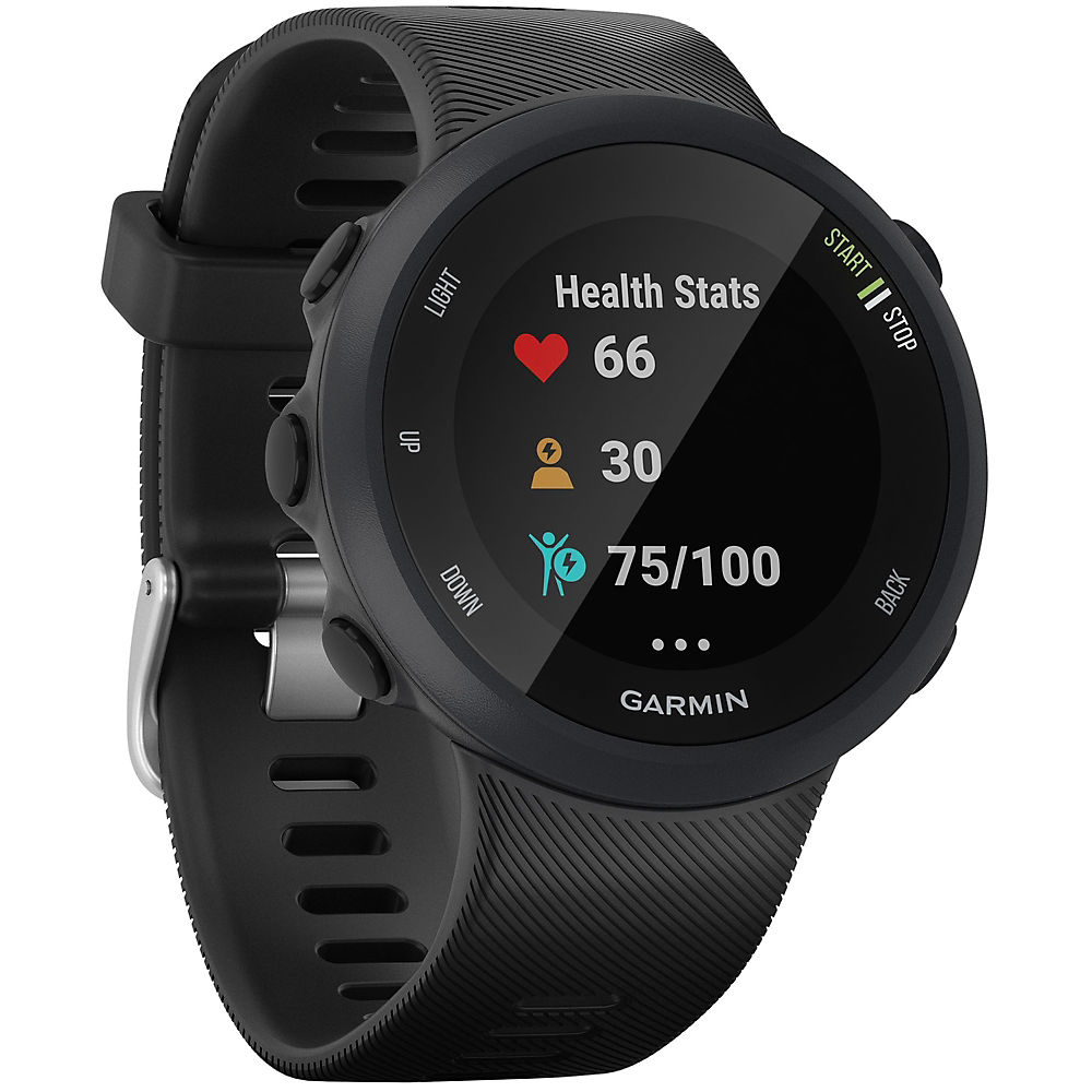 Garmin Forerunner 45-45S GPS Running Watch - Black - Black - Large, Black - Black