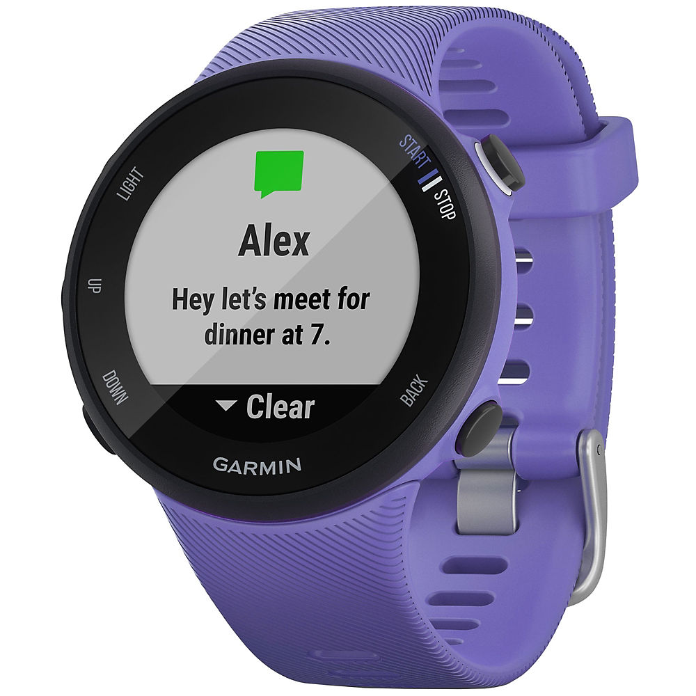 Garmin Forerunner 45-45s Gps Running Watch - Iris - Black - Small  Iris - Black